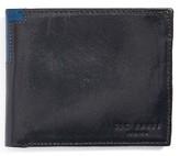 Ted Baker Men's Freshing Leather Bifold Wallet - Blue