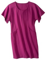 Mossimo Womens Plus-Size Short-Sleeve Pocket Ponte Dress - Assorted Colors