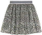 Pepe Jeans Printed pleated skirt
