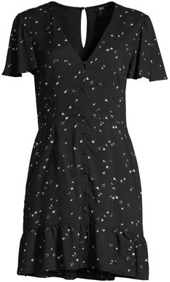 Paige Rosetta Button-Front Dress