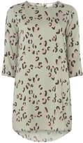Vila **Vila Leopard Print 3/4 Sleeve Tunic