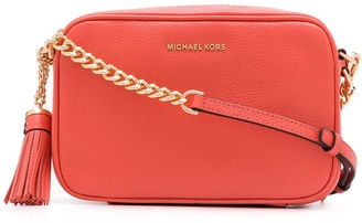 Michael Kors Jet Set tassel detail crossbody bag