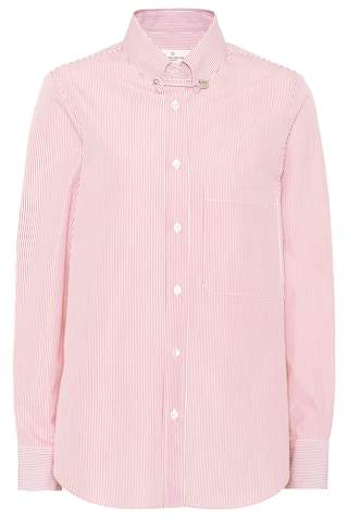 Golden Goose Janice striped cotton shirt