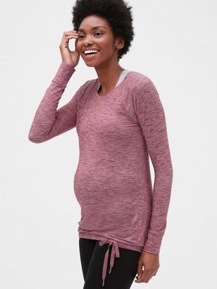 Gap Maternity GapFit Breathe Tie-Hem Top