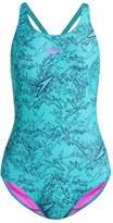 Speedo BOOM ALOV Swimsuit navy/green