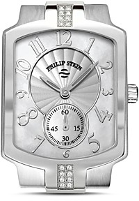 Philip Stein Teslar Classic Sport Small Diamond and Mother of Pearl Watch Head, 27mm