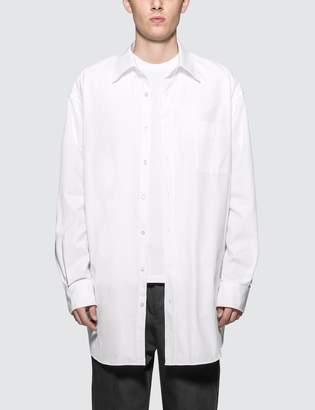 Maison Margiela Oversized Broadcloth Shirt