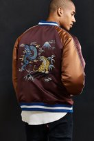 Urban Outfitters Embroidered Dragon Souvenir Jacket