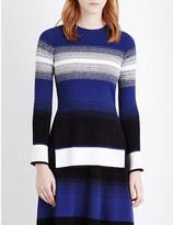 Sportmax Torre striped knitted jumper
