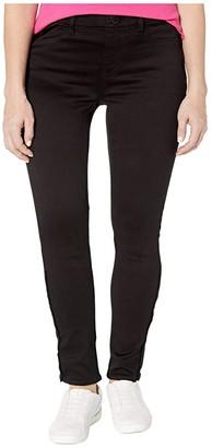 Seven7 Adaptive Adaptive Tummyless Skinny Side Zip Jeans in Black Rinse (Black Rinse) Women's Jeans