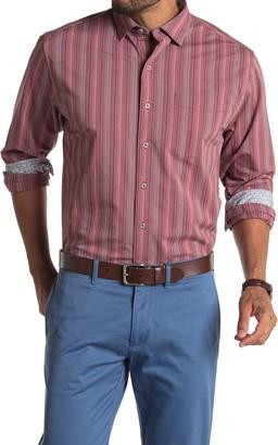 Tommy Bahama San Vincente Striped Regular Fit Shirt