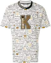 Dolce & Gabbana King patch printed T-shirt
