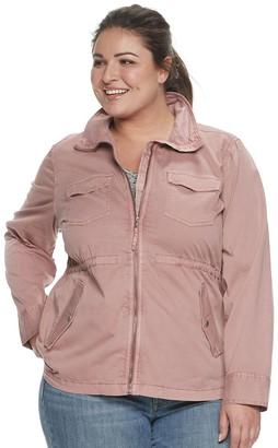 Sonoma Goods For Life Plus Size Core Utility Jacket