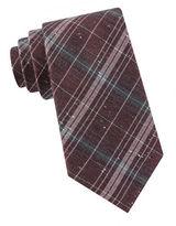 Black Brown 1826 Plaid Tie