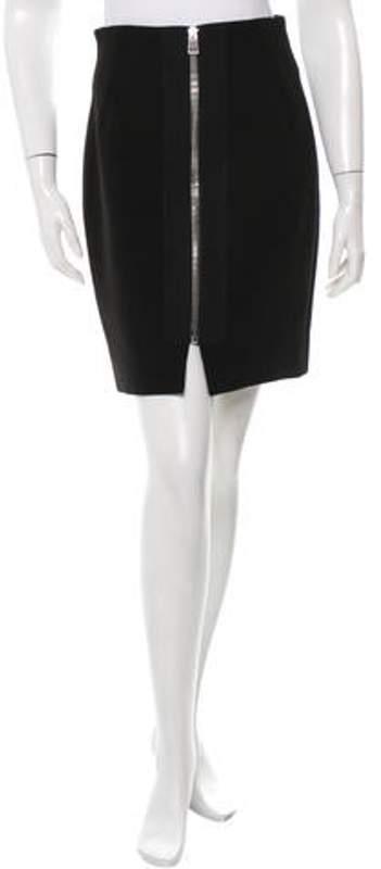 Balenciaga Knee-Length Pencil Skirt w/ Tags Black Knee-Length Pencil Skirt w/ Tags