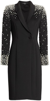 Badgley Mischka Embellished Cocktail Dress
