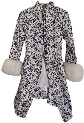 Jacques Fath White Jacket for Women