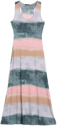 WEST KEI Tie-Dye Racerback Tank Maxi Dress