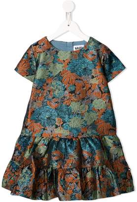 Molo Kids flower pattern party dress
