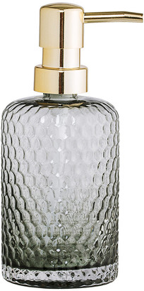 Bloomingville Grey Glass Soap Dispenser