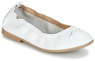 Citrouille et Compagnie JAPPALIE MOCA girls's Shoes (Pumps / Ballerinas) in White