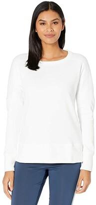 adidas Go-To Primegreen Crew Sweatshirt (Navy) Women's Clothing