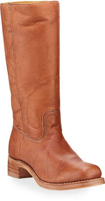 Frye Campus Rugged Leather Boots