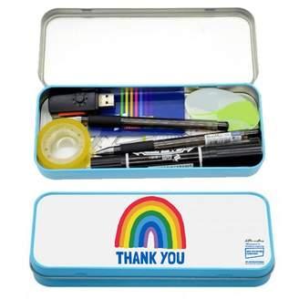 Little Mistress x Kindred Rainbow Thank You NHS Blue Rainbow Thank You Pencil Case