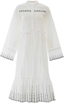 See by Chloe Embroidered Midi Dress