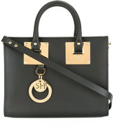Sophie Hulme logo pendant tote - women - Calf Leather - One Size