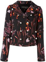 Giambattista Valli printed boxy jacket