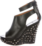 Givenchy Studded Wedge Booties