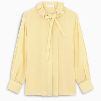 Chloé Yellow silk blouse