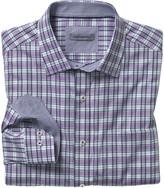 Johnston & Murphy Shadow Slub Plaid Shirt