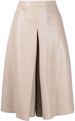 Maison Margiela High-Waisted Box-Pleat Skirt