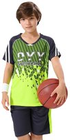 XiaoYouYu Big Boy's Raglan T-Shirt and Athletic Short Set US Size 12
