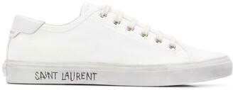 Saint Laurent Malibu distressed-effect sneakers