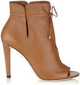 Jimmy Choo MEMPHIS 100 Canyon Soft Leather Ankle Booties