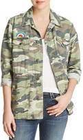 Mother Veteran Embroidered Patch Camo Jacket