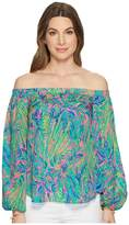 Lilly Pulitzer Adira Top Women's Clothing