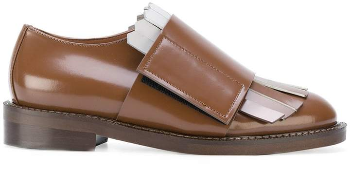 Marni Contrasting toe cap loafers Low Price Fee Shipping Online Discount Pay With Paypal Cheap Shop 3W4zWdTg