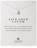 Dogeared Live Love Laugh Grace's Flower Necklace