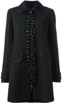 Prada embellished midi coat