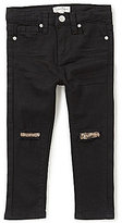Jessica Simpson Little Girls 2T-6X Skinny Slit-Knee Jeans