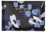 Kate Spade Women's 'Cedar Street - Floral' Card Holder - Black