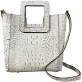 Croco Un Billion TMRW Studio Leather Square Crossbody - AntonioMini