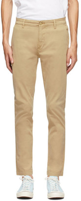 Levi's Levis Beige Tapered Standard Trousers