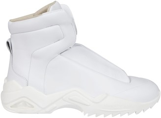 Maison Margiela Future High-Top Ridged Sneakers