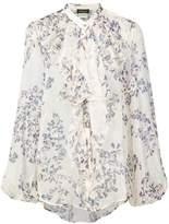 Les Copains floral print blouse