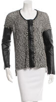 Robert Rodriguez Knit Zip-Up Cardiagn